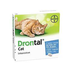 Drontal Cat Vermifuge Chat 2 Comprimés