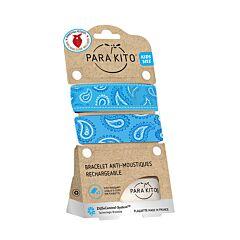 Parakito Kids Armband Blauw 1 Stuk + GRATIS Bandana & 2 Navullingen
