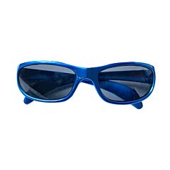 Zonnebril Voor Kinderen - Blauw/ Ruitjes - 4-6 Jaar 1 Stuk