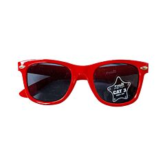 Zonnebril Voor Kinderen - Rood - 6-12 Jaar 1 Stuk