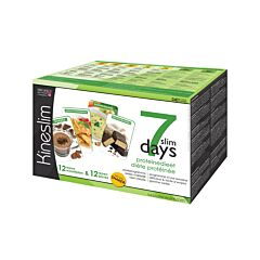 Kineslim Diète Protéinée 7 Slim Days Pack 7 Jours