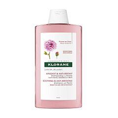Klorane Apaisant & Anti-Irritant Shampooing à la Pivoine BIO Cuir Chevelu Sensible & Irrité Flacon 400ml