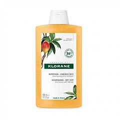 Klorane Nutrition Shampooing à la Mangue Cheveux Secs Flacon 400ml