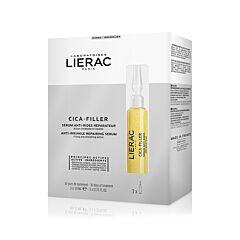 Lierac Cica-Filler Sérum Anti-Rides Réparateur 30 Jours 3 Ampoules x 10ml