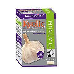 MannaVital Kyolic Platinum Gefermenteerde Knoflook 60 Tabletten