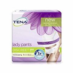 Tena Lady Pants Discreet Taille L 10 Pièces