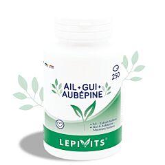 Lepivits Ail + Gui + Aubépine 250 Capsules
