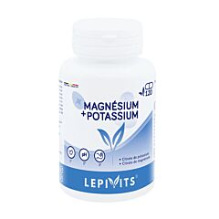 Lepivits Magnesium + Kalium 120 Capsules