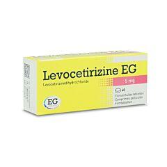 Levocetirizine EG 5mg 40 Filmomhulde Tabletten