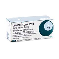 Levocetirizine Teva 5mg 100 Tabletten