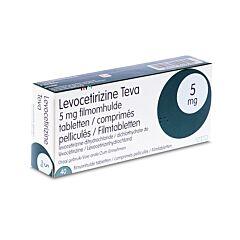 Levocetirizine Teva 5mg 40 Tabletten
