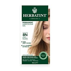 Herbatint Soin Colorant Permanent Cheveux 8N Blond Clair Flacon 150ml