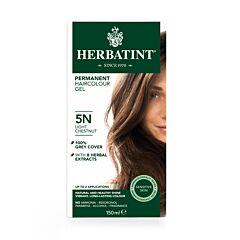 Herbatint Soin Colorant Permanent Cheveux 5N Châtain Clair Flacon 150ml