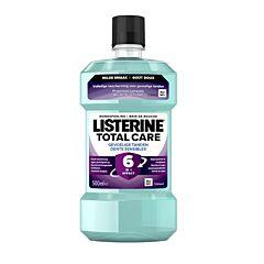 Listerine Total Care Sensitive Dents Sensibles Bain de Bouche Flacon 500ml