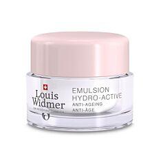 Louis Widmer Emulsion Hydro-Active Zonder Parfum 50ml