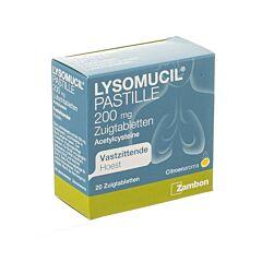 Lysomucil 200mg Toux Grasse 20 Pastilles