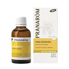 Pranarôm Huile Végétale Macadamia Bio Flacon 50ml