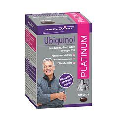 MannaVital Ubiquinol Platinum 60 Capsules