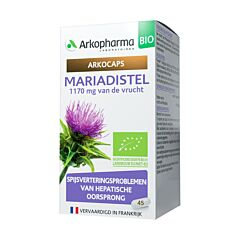 Arkocaps Mariadistel Bio 45 Capsules NF