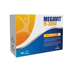 Megavit D-3000IU 30 Gélules
