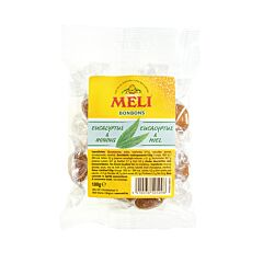 Melapi Bonbons à lEucalyptus & au Miel Sachet 100g