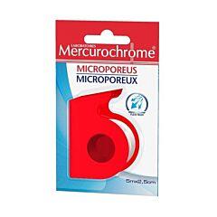 Mercurochrome Sparadrap Microporeux 5mx2,5cm 1 Rouleau