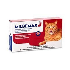Milbemax Vermifuge Grands Chats 20 Comprimés Enrobés