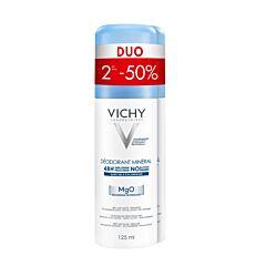 Vichy Déodorant Minéral 48h Spray PROMO Duo 2x125ml