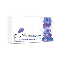 Pure Valeriana+ Sommeil & Stress 20 Comprimés Pelliculés