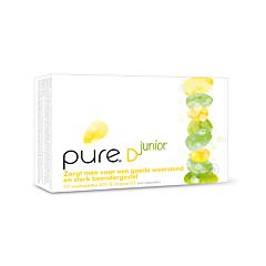 Pure D Junior 400IE Vitamine D3 Résistance & Ossature Solide 90 Comprimés Orodispersibles
