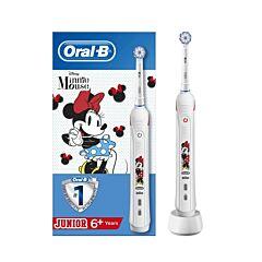 Oral-B Kids D501 Smart Junior Minnie Elektrische Tandenborstel 1 Stuk
