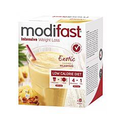 Modifast Intensive Milkshake Exotic 8 Sachets x 55g