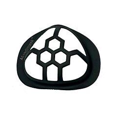 Turtle 3D Support Masque Buccal Noir 1 Pièce