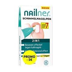 Nailner Schimmelnagelpen 2in1 4ml Promo - €5