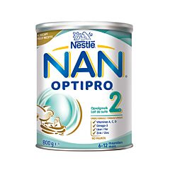 Nan Optipro 2 Lait de Suite Standard en Poudre 6-12 Mois 800g