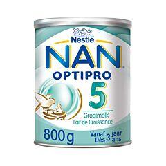 Nan Optipro 5 Lait de Croissance en Poudre +3 ans 800g