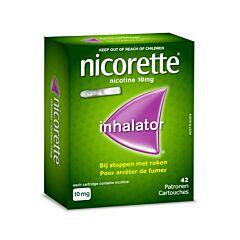 Nicorette Inhaler 10mg + 42 Vullingen