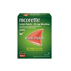 Nicorette Invisi Patch 25 Mg 14 Pleisters