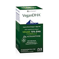 Minami VeganDHA DHA Formula + Astaxanthine 60 Softgels