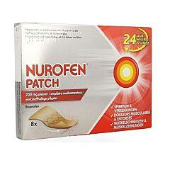 Nurofen Patch 200mg 8 Emplâtres Médicamenteux