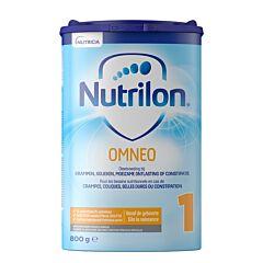 Nutrilon Omneo 1 Crampes-Coliques-Selles Dures-Constipation 0m+ Poudre 800g