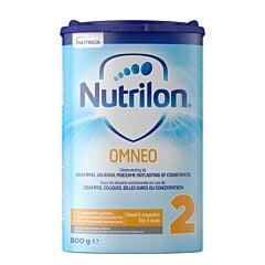 Nutrilon Omneo 2 Lait de Suite Crampes-Coliques-Selles Dures-Constipation 6m+ Poudre 800g
