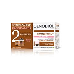 Oenobiol Teint de Bronze Peau Claire 2 Mois 2x30 Gélules