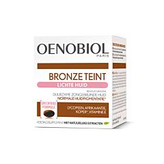 Oenobiol Teint de Bronze Peau Claire 30 Gélules