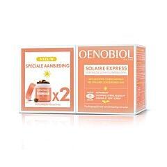 Oenobiol Solaire Express PROMO 2x15 Gélules