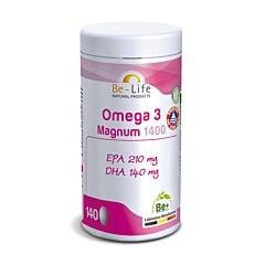 Be-Life Omega 3 Magnum 1400 140 Gélules