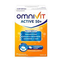 Omnivit Active 50+ 20 Comprimés Effervescents