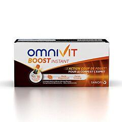 Omnivit Boost Instant Flesjes 10x15ml