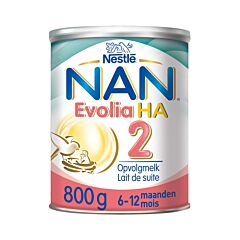 Nan Optipro Evolia HA 2 Lait de Suite 6-12 Mois 800g