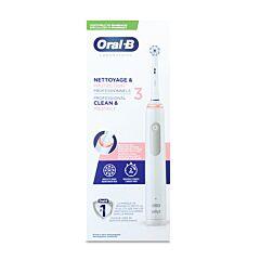 Oral-B Brosse à Dents Electrique Nettoyage & Protection Professionnels 3 - 1 Pièce